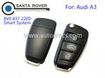 Original Audi A3 Flip Remote Key 8V0 837 220D Smart System Keyless ID48 CAN chip