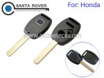 Honda Accord Civic CRV Pilot Fit Remote Key Shell 2+1 Button With Chip Slot