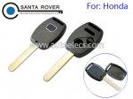 Honda Accord Civic CRV Pilot Fit Remote Key Shell 2+1 Button No Chip Slot