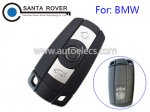BMW 1 3 5 6 7 Smart Remote Key Case 3 Button No Battery Cover