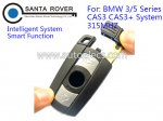 BMW CAS3 CAS3+ Smart Card 3 Series 5 Series X1 X6 Z4 315Mhz Intelligent