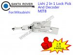 MIT8 Lishi 2 in 1 Lock Pick and Decoder For Mitsubishi