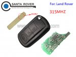 Land Rover Discovery 3 Range Rover Sport Folding remote key 315mhz HU92