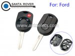 Ford Fusion Escape Focus Edge Remote Key Shell Case 3 Button FO38 Blade