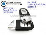 Lamborghini Style 433mhz Audi Smart Key Card 8K0959754